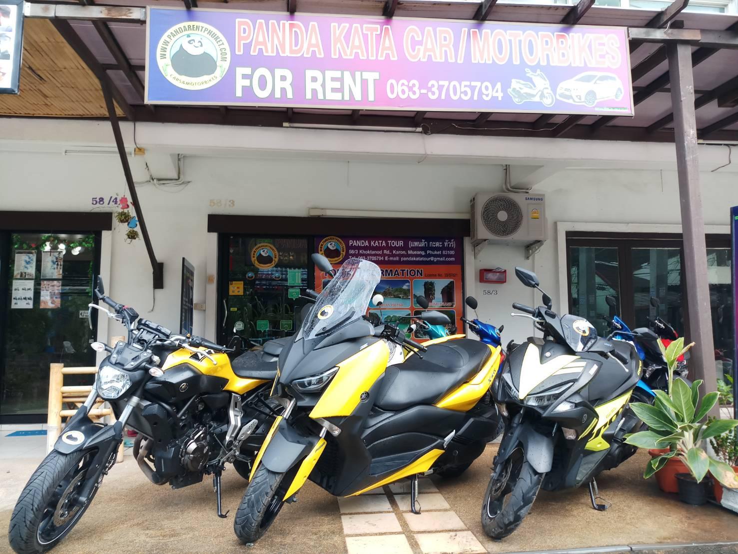 Alquiler de scooter/auto en Phuket