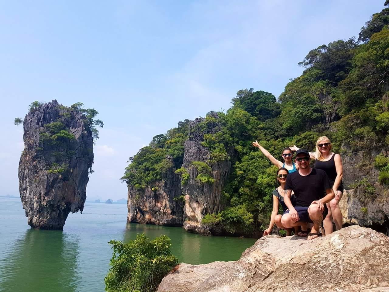 ⭐️⭐️⭐️⭐️⭐️ James Bond Isla y Bahía de Phang Nga ⭐️⭐️⭐️⭐️⭐️